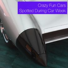 Crazy Fun Cars Spotted During Monterey Car Week