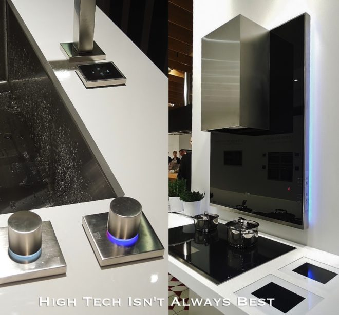 Avoid new tech in appliances