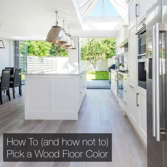 How To Get The Right Wood Floor Color