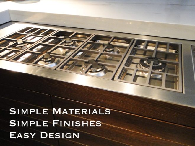 simple material choices work in kitchens