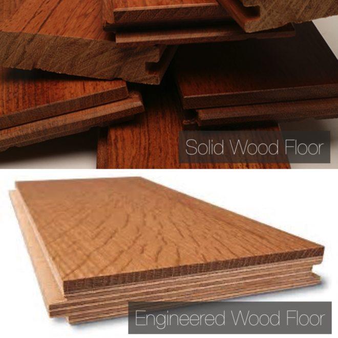how to choose between Solid and engineered wood floor