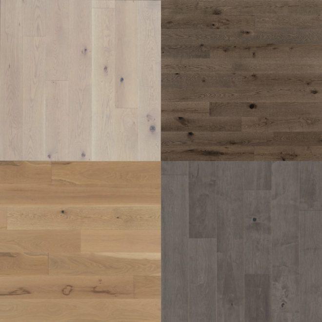 Modern wood floor color options