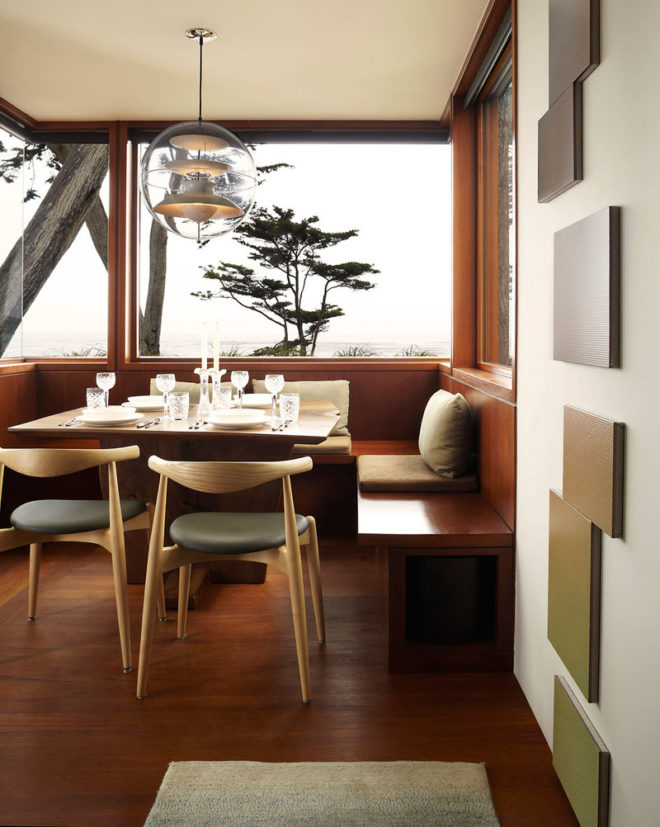 woods used in dining room