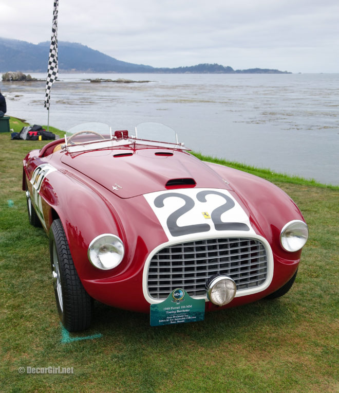 First Ferrari to win at Le Mans at Pebble Beach