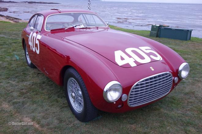 Winning 1951 Ferrari 340 America Vignale Berlinetta at Pebble Beach