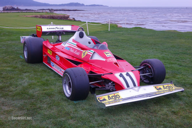 Niki Lauda's winning Ferrari
