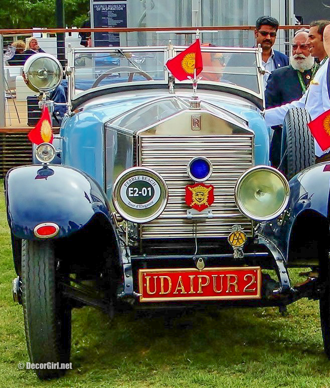 1924 Rolls-Royce 20 HP Barker Tourer owned by Maharana of Udaipur