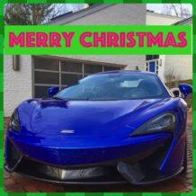 Merry Xmas McLaren 570s