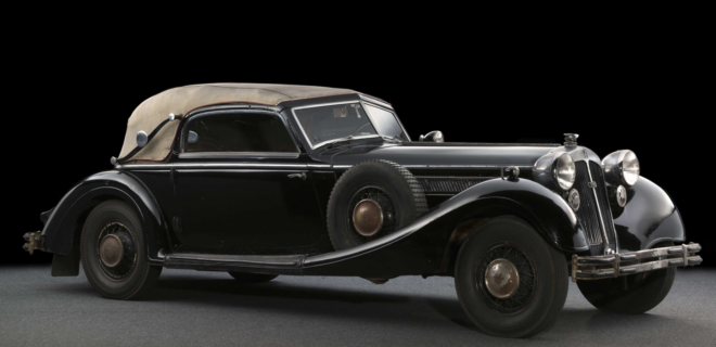 1937 Horch 853 Sport Cabriolet used in WWII