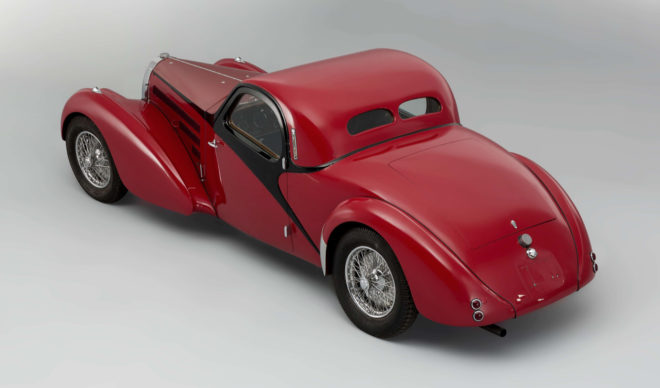 1938 Bugatti Type 57C coupé Atalante
