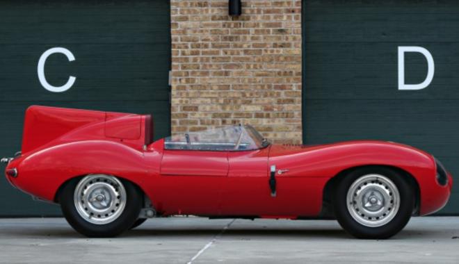 1956 Jaguar D-Type at Gooding and Co auction