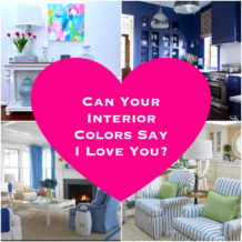 How colors inspire love at home