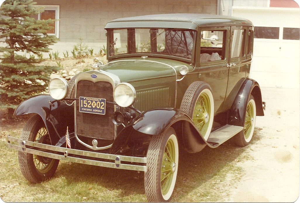 Ford Model A from childhood
