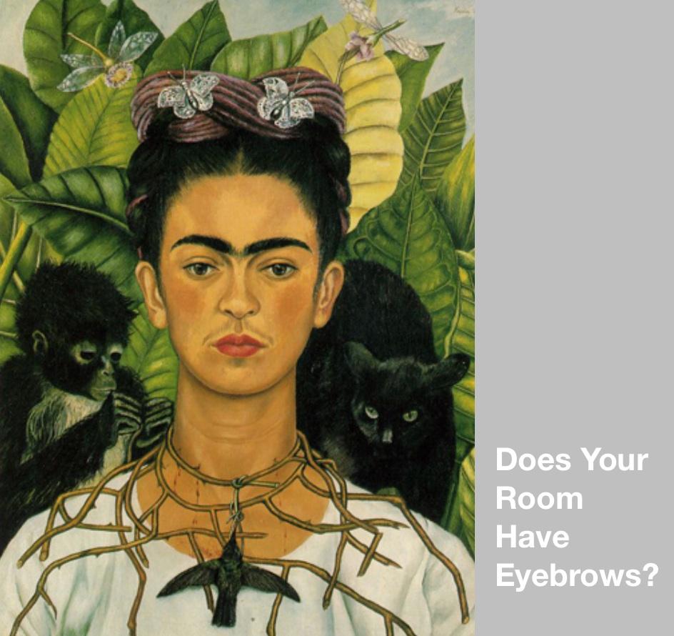 Do you have interior eyebrows?