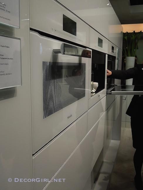 Miele flush mounted appliances