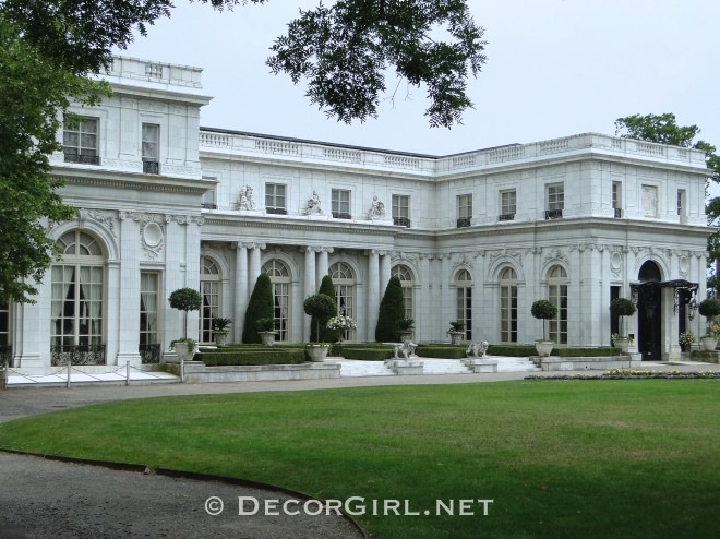 Architecture Gilded Age Mansions Of Newport