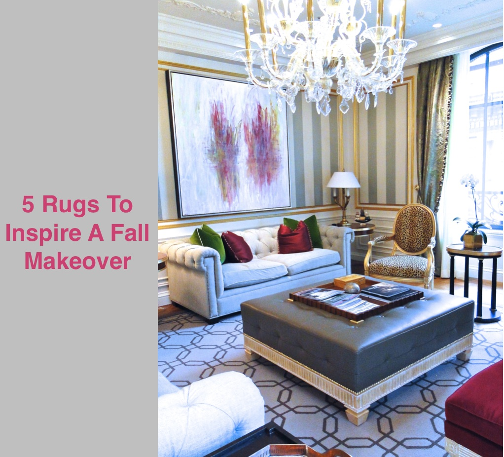 5 Rugs to Inspire a Fall Makeover