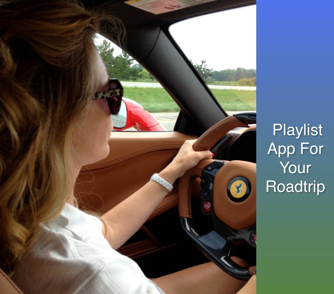 Roadtrip Mixtape Application