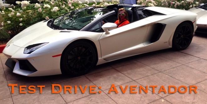 Test Drive 2014 Lamborghini Aventador