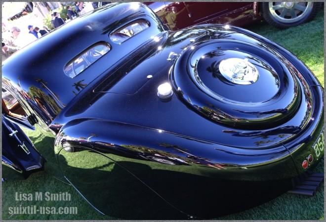 Bugatti Type 57 SC rear