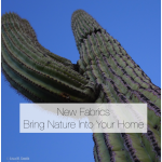 New Fabrics Bring Nature Into Your Home