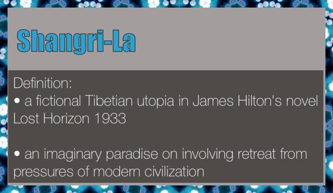 definition of Shangri-La