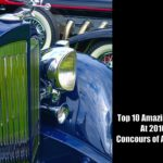Top 10 Amazing Cars At 2016 Concours of America