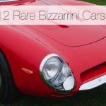 The 12 Rare Bizzarrini Cars On The Esteemed Lawn