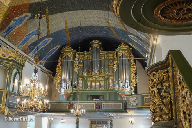 Organ in Oslo Cathedral