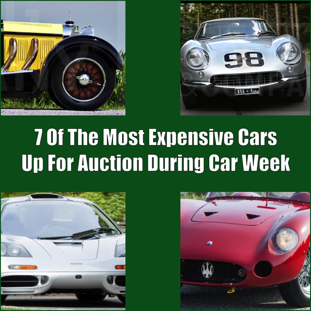 7 Of The Most Expensive Cars Up For Auction During Car Week
