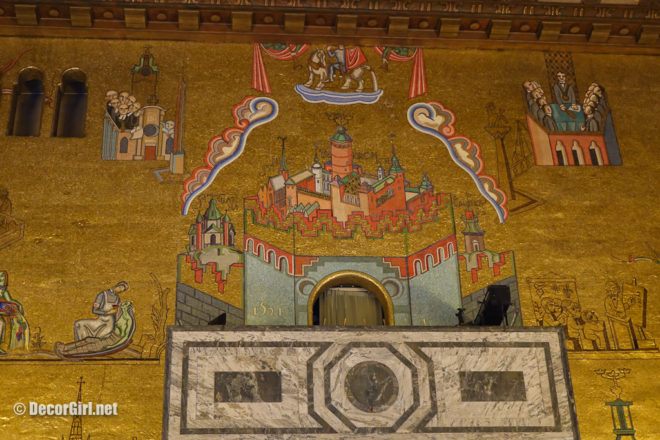 Stockholm City Hall mosaic