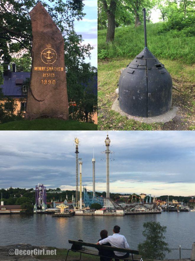 Walking around Skeppsholmen