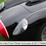 Awesome Cars From Ferrari Concours at 2017 Pebble Beach