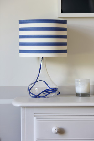 easy wallpaper lampshade
