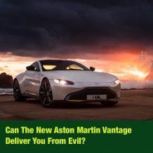 Test drive of the 2018 Aston Martin Vantage