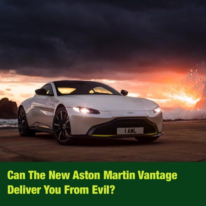 2012 Aston Martin Vantage Interior: Can The New Aston Martin Vantage Deliver You From Evil?