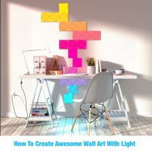 How To Create Awesome Wall Art With Light