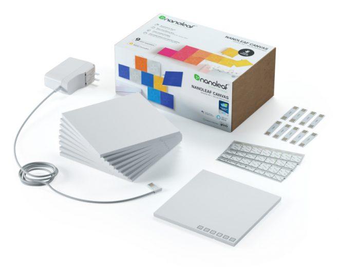 Nanoleaf Canvas modular light panel kit