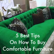 Buying furniture