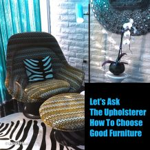 How to choose good furniture