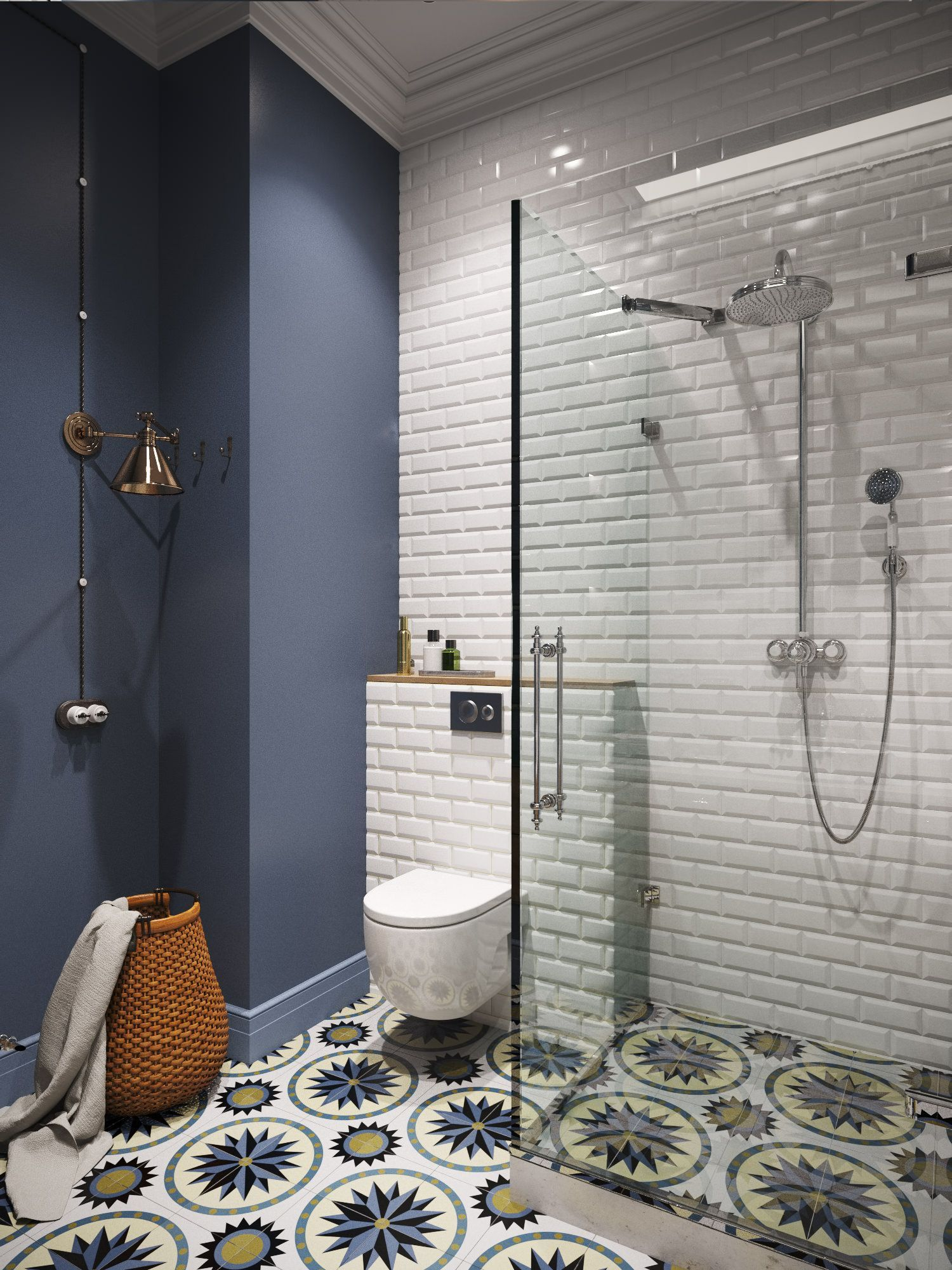 Use tile in the bathroom