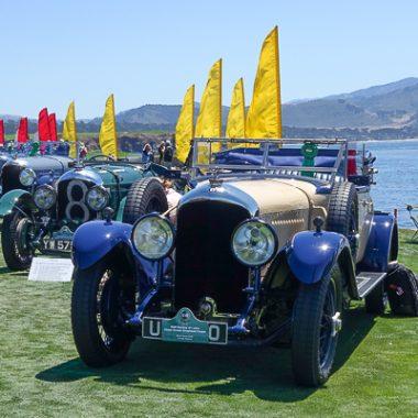 1929 Bentley 4 1/2 Litre Victor Broom Drophead Coupe and 1928 Le Mans Bentley