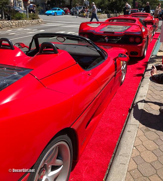 Ferrari F50s on Ocean Avenue