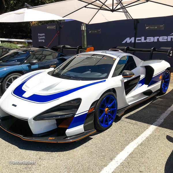 White and Blue McLaren Senna