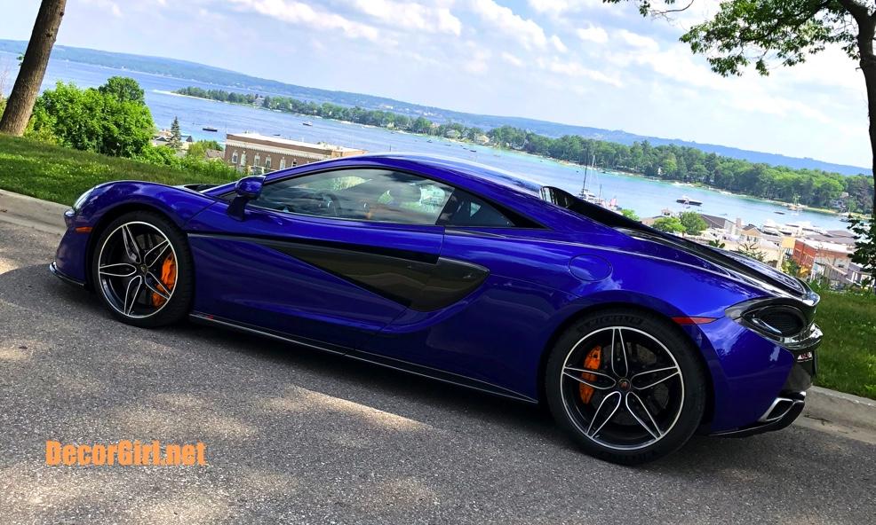 Taking the McLaren 570S home to Michigan