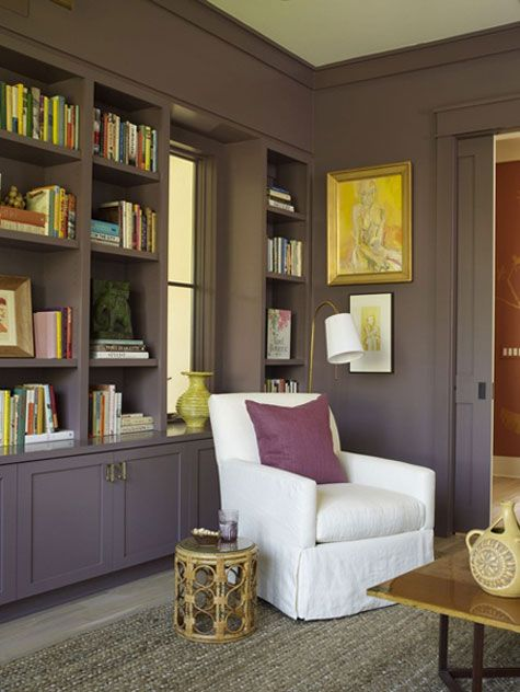 Paint walls and molding the same color