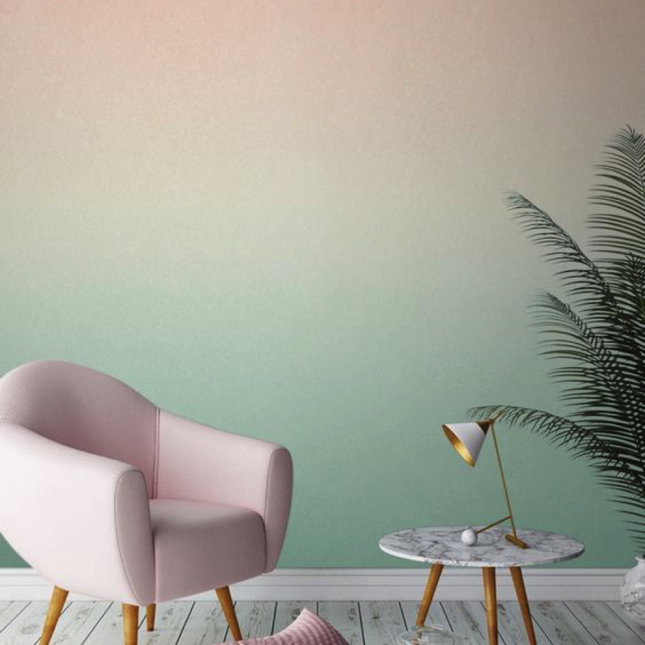 Ombre walls in 2020 Colors of The Year