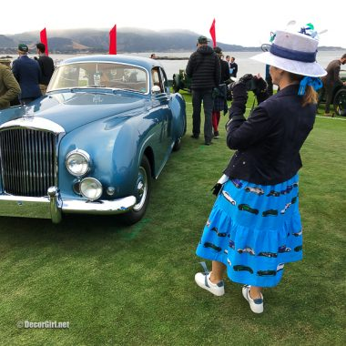 The Bentley Dress at Pebble Beach