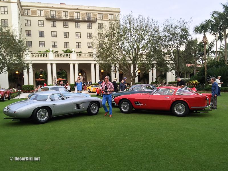 Show center at Ferrari Cavallino Classic