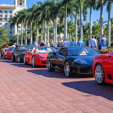 Ferrari tour at The Breakers